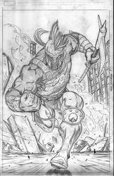God of War by EdMcGuinness