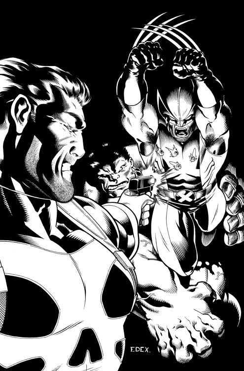 Hulk 15 cover by EdMcGuinness