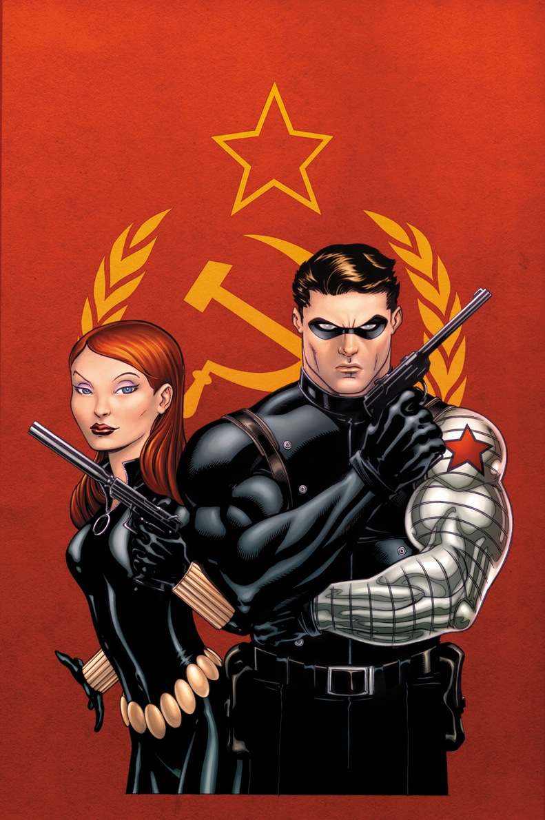 black widow and winter soldier relationship