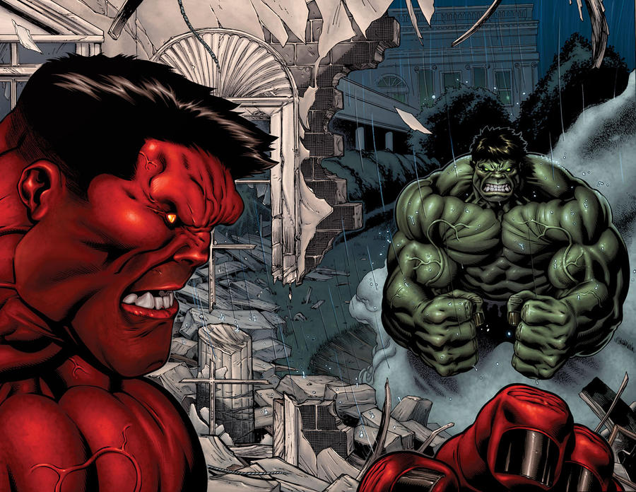 Hulk 30 page by EdMcGuinness