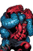 Hulk 3 cover by EdMcGuinness