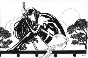 Psylocke commission by EdMcGuinness
