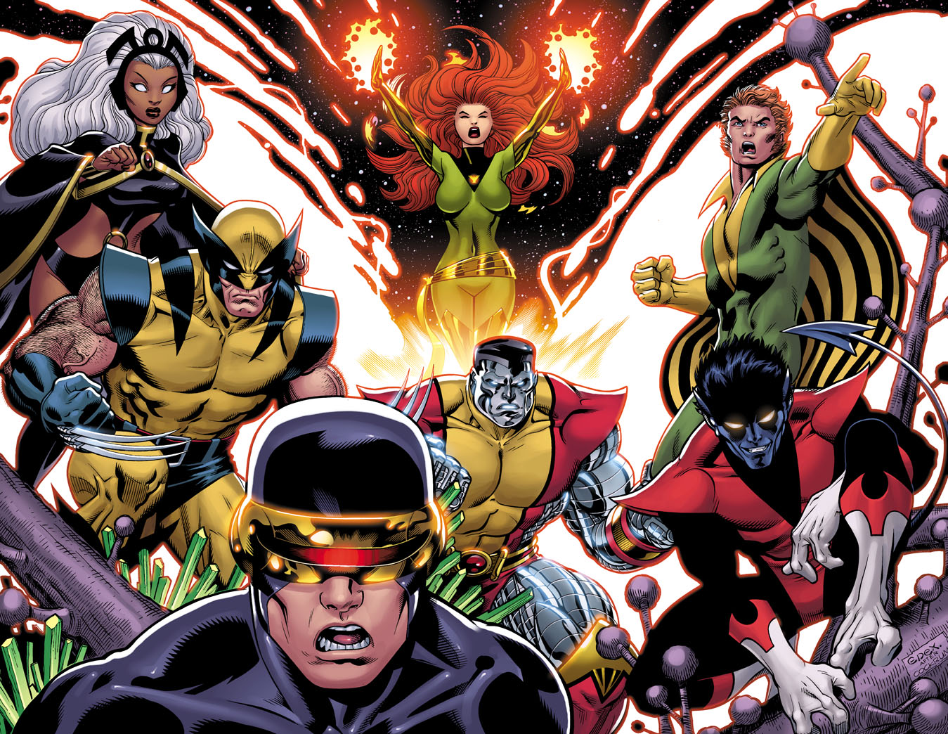 XMen redo by EdMcGuinness
