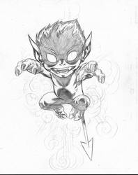Bamf! sketch by EdMcGuinness