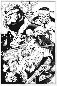 Deadpool Trade Cover