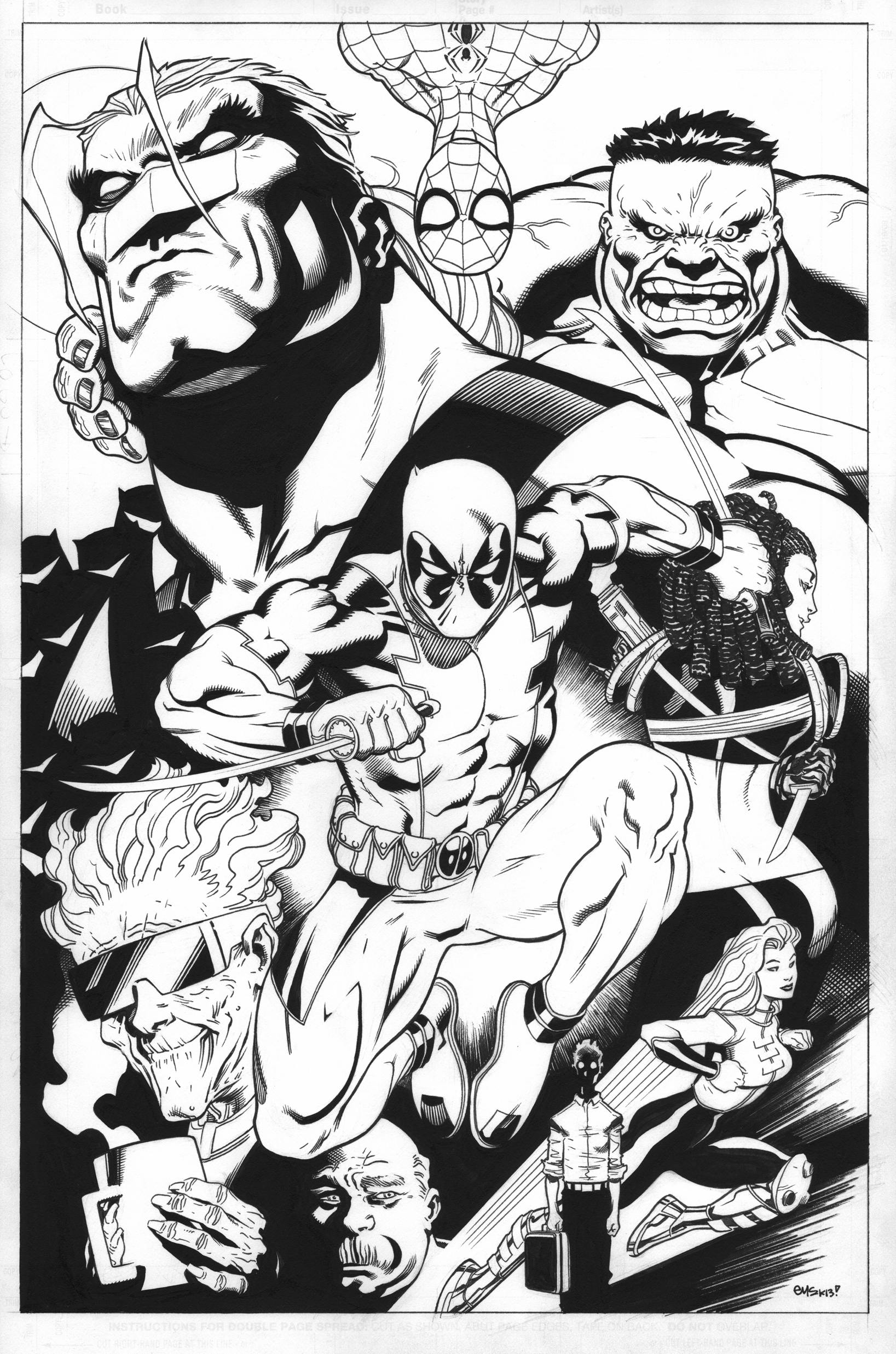 Deadpool Trade Cover by EdMcGuinness