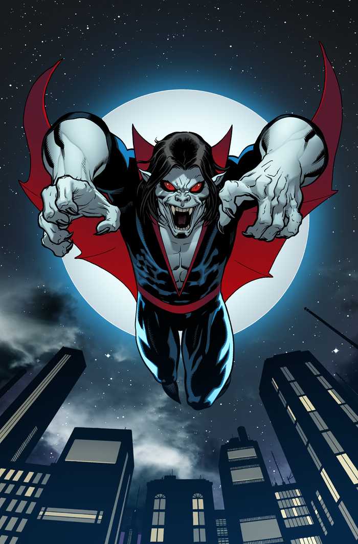 Morbius cover by EdMcGuinness