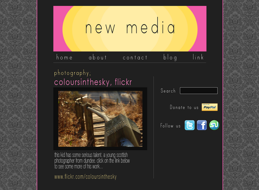 Fake Website Template. 25 best ideas about photography website ...