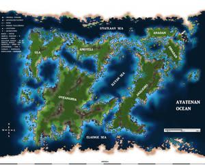 Planet Rayeivaana map
