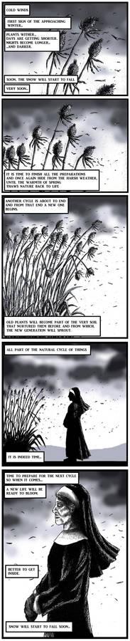 Orphanage comic page 1. (WIP)