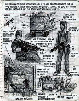 Loaders - P.E.W. sketches 2/4