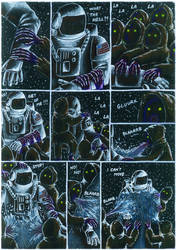 Cold Winter Night comic page 4.