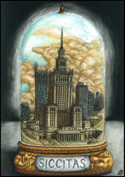 Postapocalyptic bottle cities 3. - Siccitas
