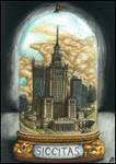 Postapocalyptic bottle cities 3. - Siccitas by Alerazz501