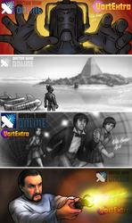 Doctor Who Online VortExtra Teaser Banners