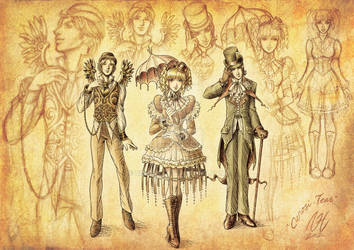 Gothic and Lolita Bible Illustration Contest Entry
