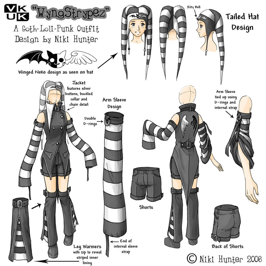 Character Analysis For Costume Design : Costume design wyngstrypez by niki uk on deviantart