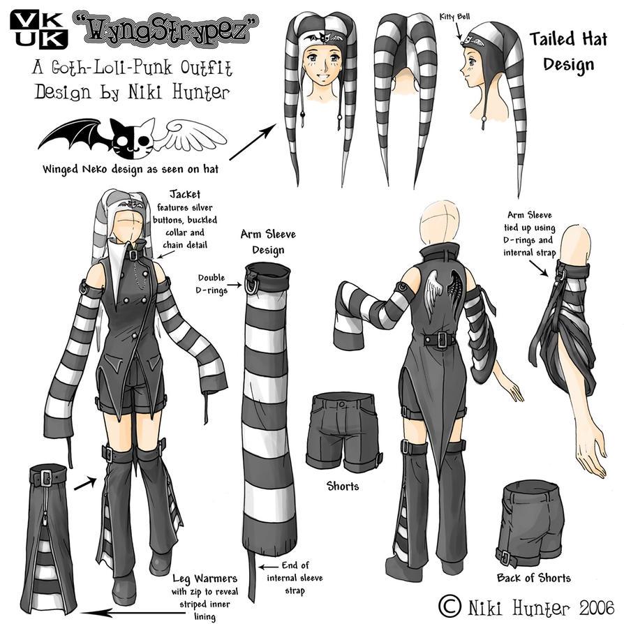 Costume Design Character Analysis : Costume design wyngstrypez by niki uk on deviantart