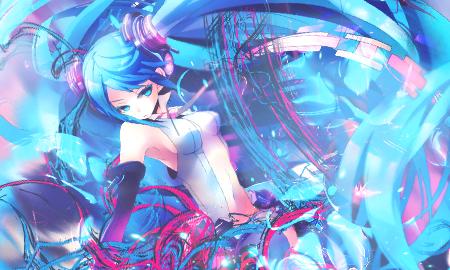 Hatsune Miku tag by Galukxys