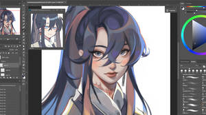 WIP COMMISSION FOR LILIANEI