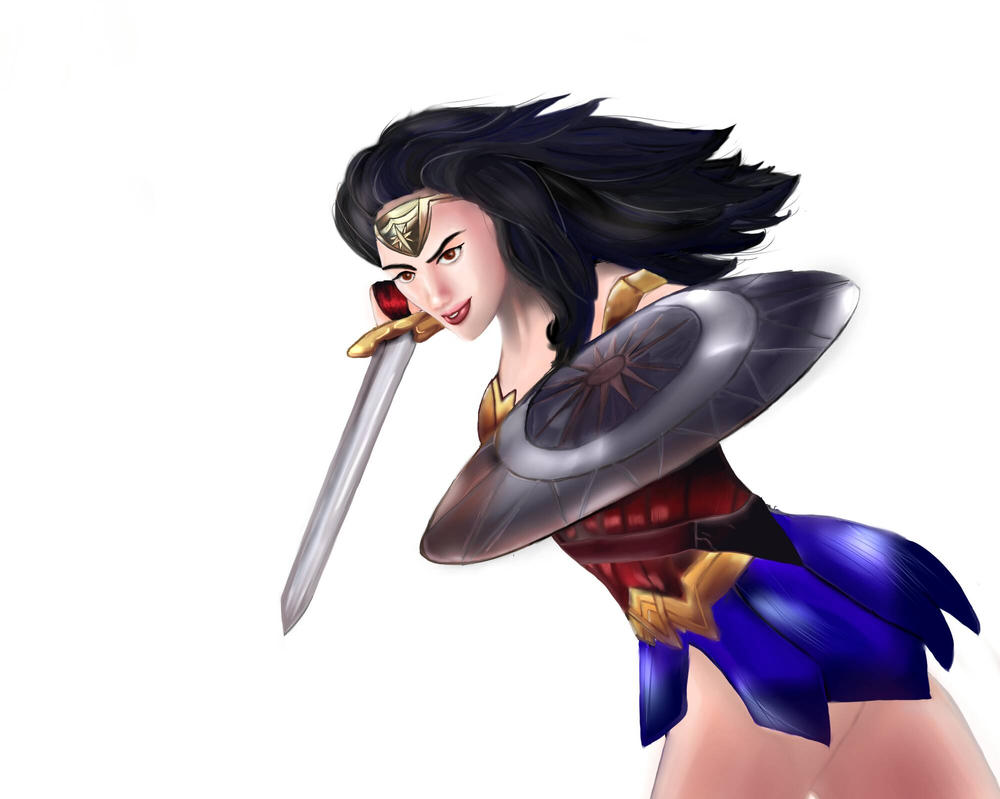 Wonder Woman by TenShiReNge