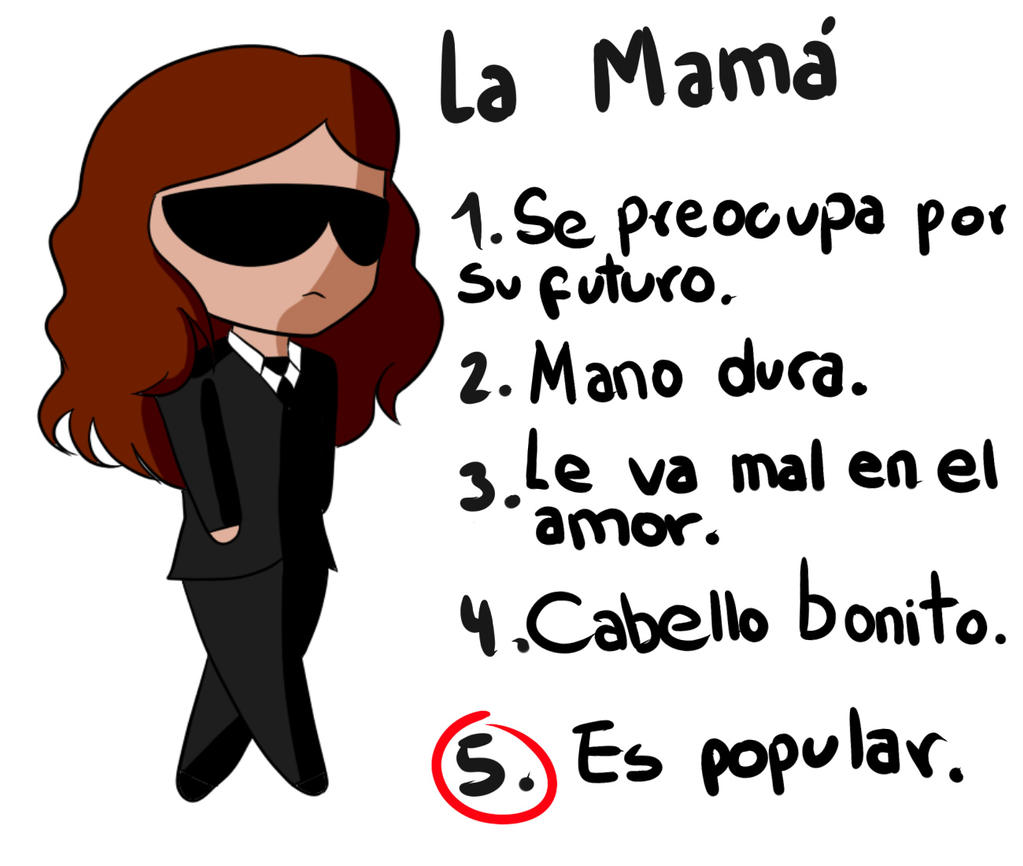 La mama del grupo by TenShiReNge
