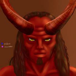 Hellboy by TenShiReNge