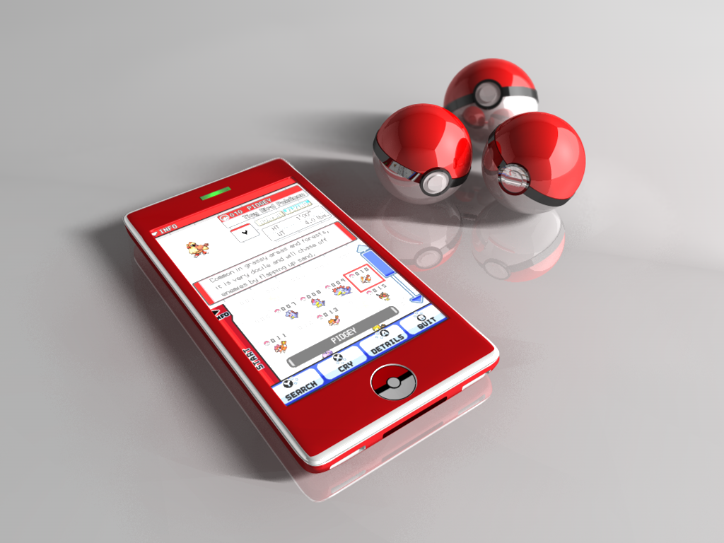 Pokedex Concept by 0111100001000100