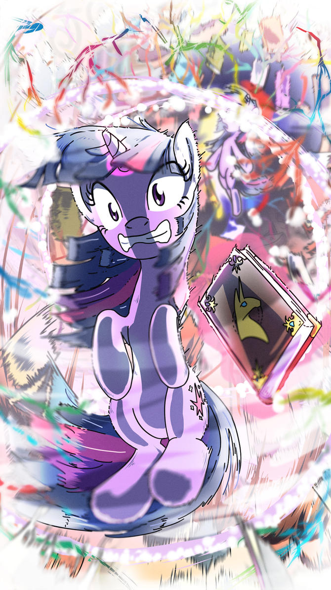 Fighting is Magic: Twilight Sparkle by Yoka-the-Changeling