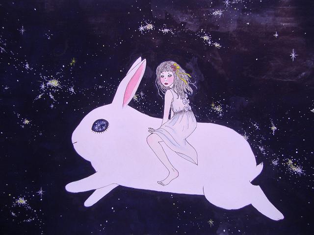 run bunny stardust by radiationeyes