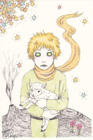 le petit prince by radiationeyes