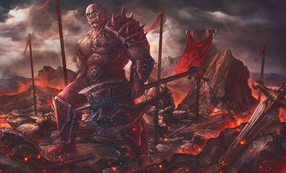 Merciless war by SergeyOlson