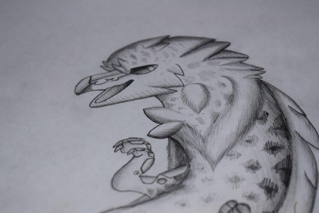 seagull fish cheetah by pinksoup8