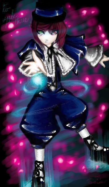 Tendance Oekaki Sousei_seki_ou_Lapis_lazuli_by_Irisilis