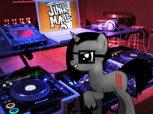 Skrillex Pony is Best Pony by Noahlankford