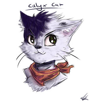 Calyx Cat by animateUNDERTALE