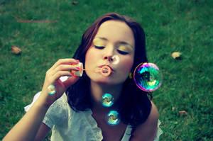 Vintage Bubbles by AgataThinkyborsky