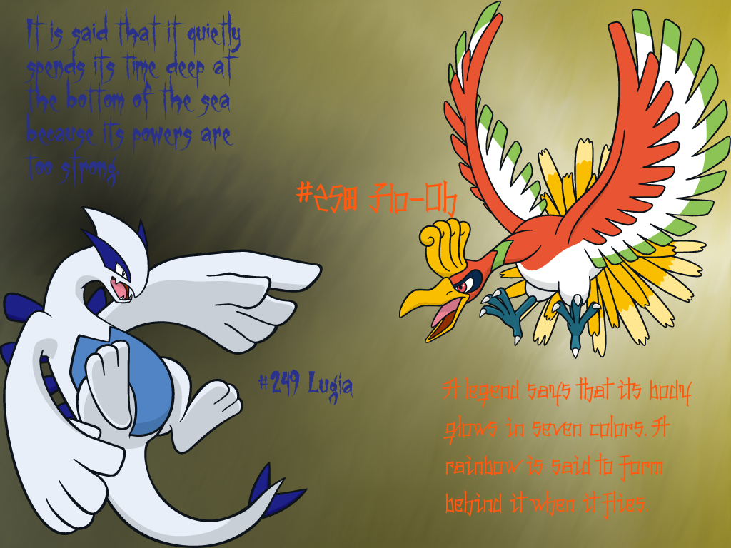 Johto Legendary Birds GIMP Wallpaper by Queen-Articuno on ...