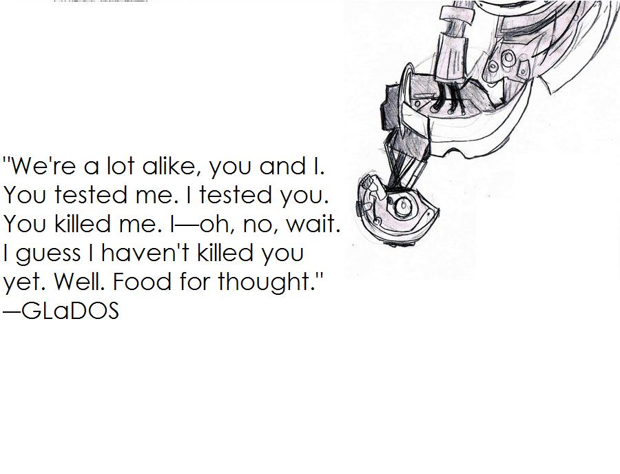 Glados Quote By Nathanr2013 On Deviantart