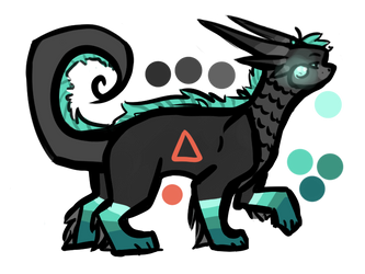 Dragon Adoptable - CLOSED by blissbird