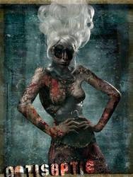 Acedia Corset-Zombie by AntisepticFashion