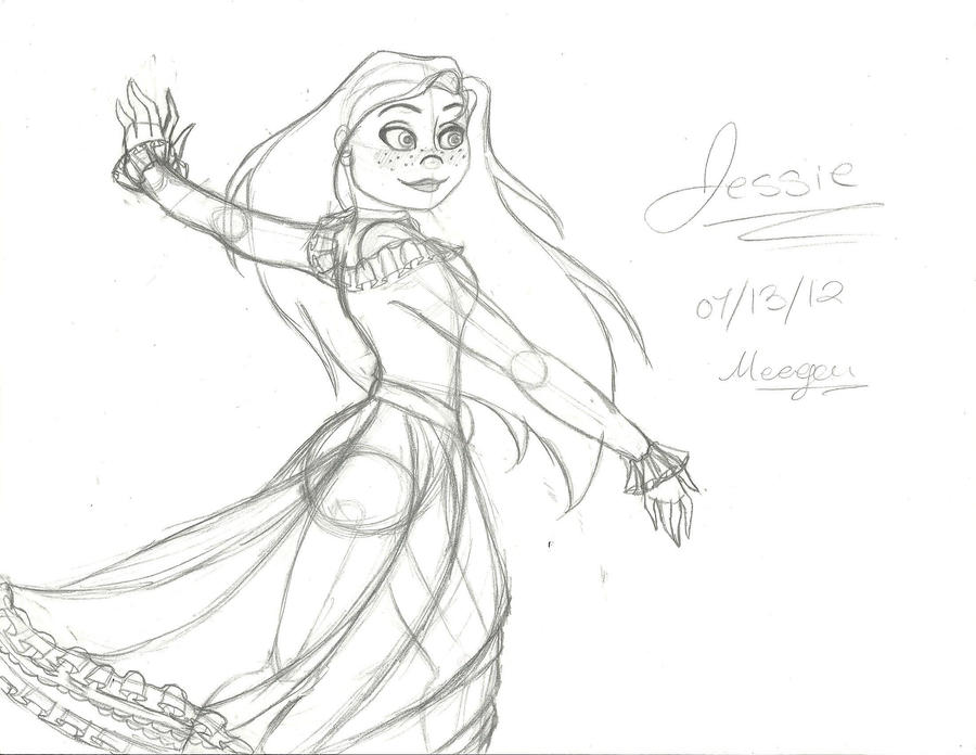 Jessie Tango sketch by TheSpaceCowgirl