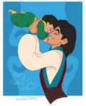 Aladdin and Ali: Fathers day 2016
