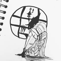 Inktober 2016 #27 by DarkmatterNova