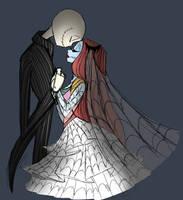 Wedding portrait  by DarkmatterNova