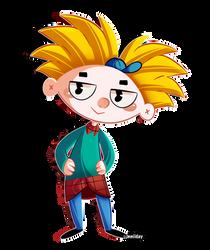 Hey Arnold. by sunniiday
