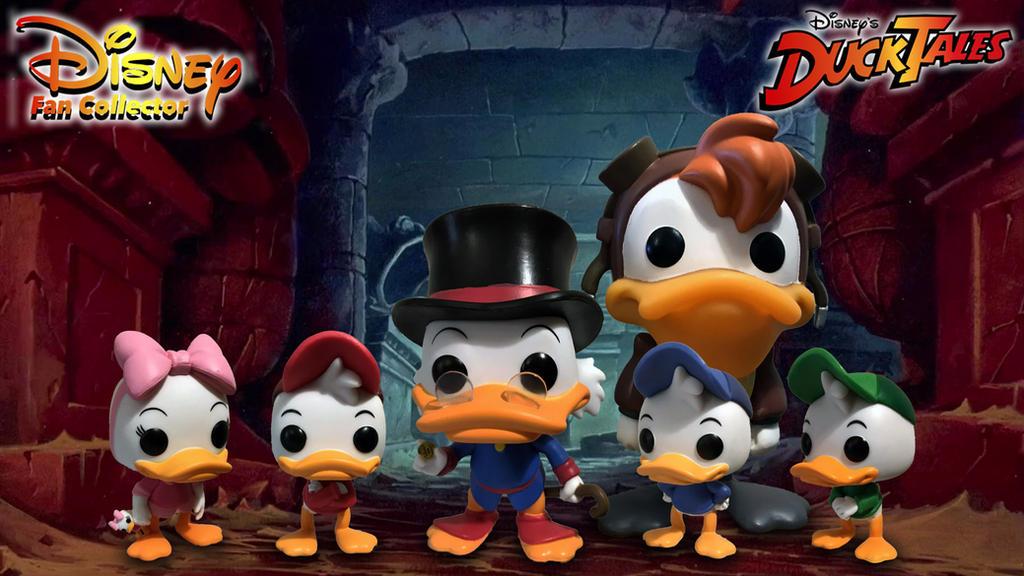 Disney funko pop ducktales by tombraidercollector on deviantart - Funko pop wallpaper ...