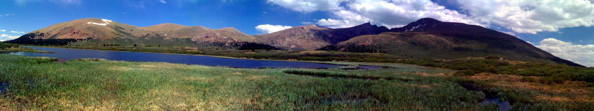 Mount Bierstadt panaroma