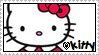 Stamp : Love Kitty D: by Zainele