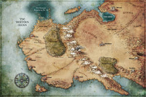 Myth world map
